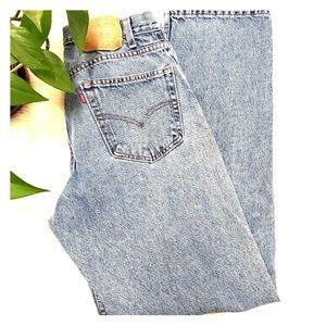 Vintage orange tab Levi Jeans straight leg 34x30